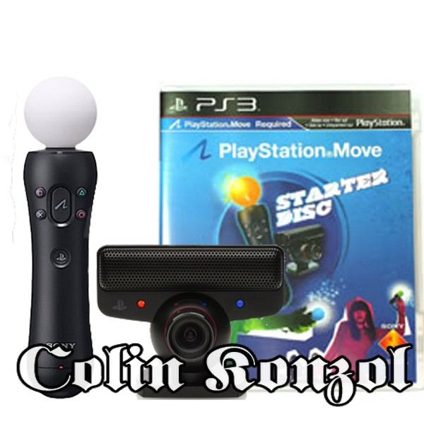 Playstation 3 Move Starter Pack (Sony)