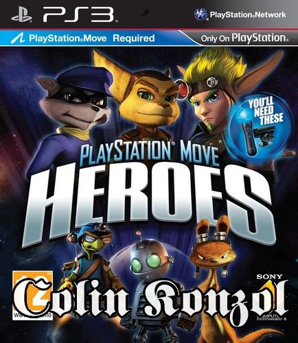 PlayStation Move Heroes (Co-op) (only Move)