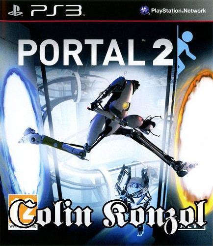 Portal 2 (Co-op) Német borító, választható Angol nyelv.