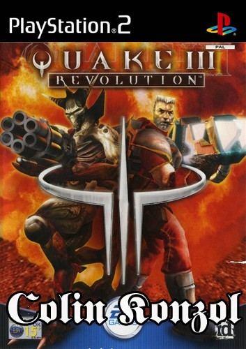 Quake 3 Revolution (Német borító, választható Angol nyelv)