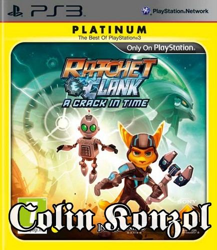 Ratchet & Clank A Crack in Time (Platinum)