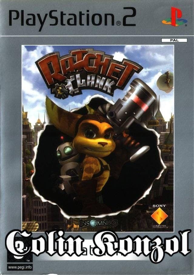 Ratchet & Clank (Platinum) (No Manual)