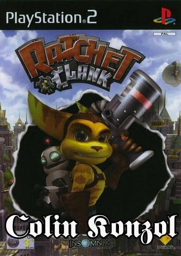 Ratchet & Clank (német borító, angol nyelv)