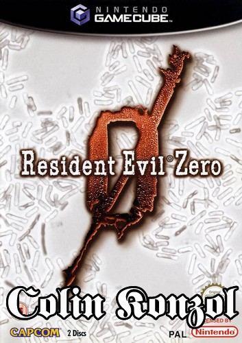 Resident Evil 0 (Gamecube) (UK)