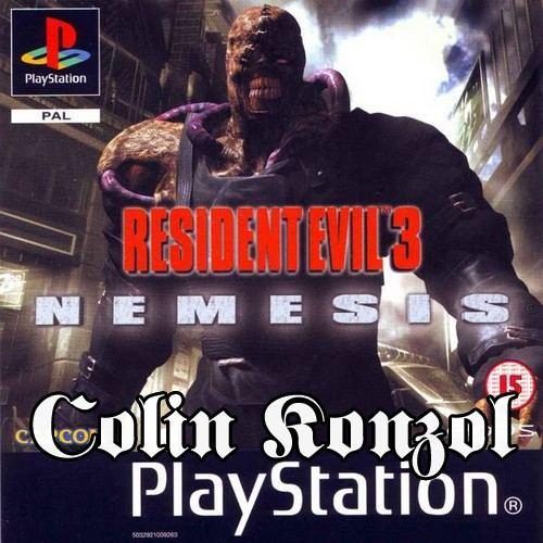 Resident Evil 3 Nemesis (Előlapi borító nélkül)