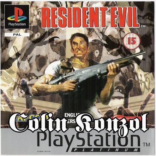 Resident Evil (Platinum) (Full német, előlapi borító nélkül)