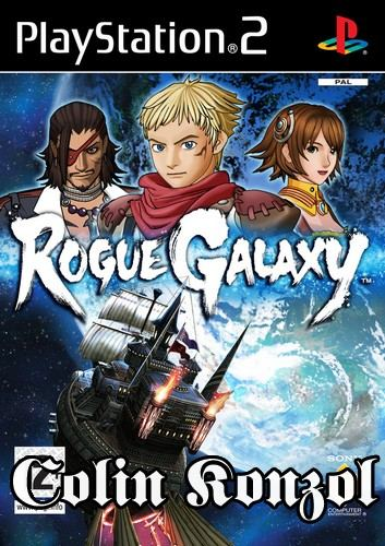 Rogue Galaxy (Holland borító) (Válaszható angol nyelv)