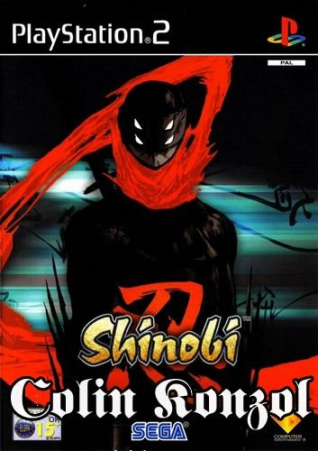 Shinobi (Francia borító, választható Angol nyelv)