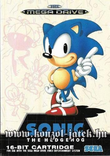 Sonic the Hedgehog – SEGA Mega Drive (Cartridge)