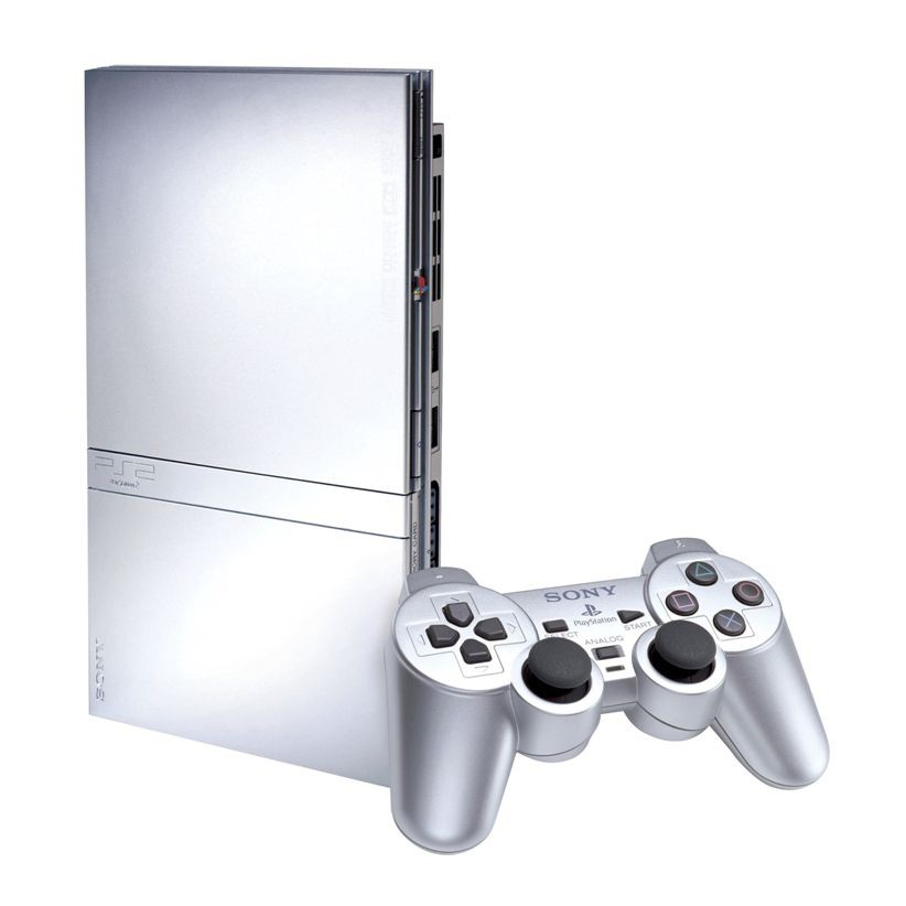 Sony Playstation 2 SCPH 75004 (Silver)