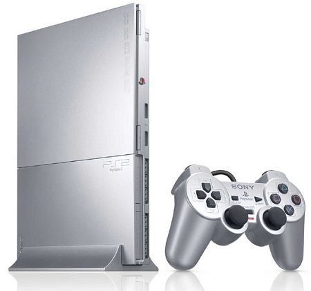 Sony Playstation 2 SCPH 90004 (Silver)