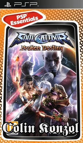 Soulcalibur Broken Destiny (PSP Essentials)