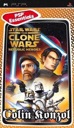 Star Wars The Clone Wars Republic Heroes (PSP Essentials)