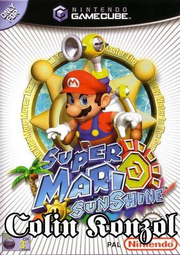Super Mario Sunshine (GameCube) (Német borító, válaszható angol nyelvvel)