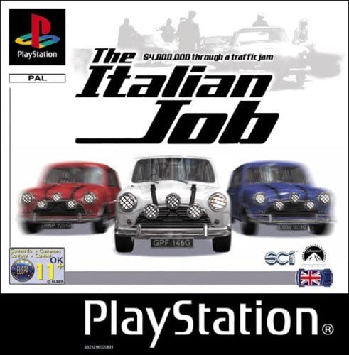 The Italian Job (only disc)
