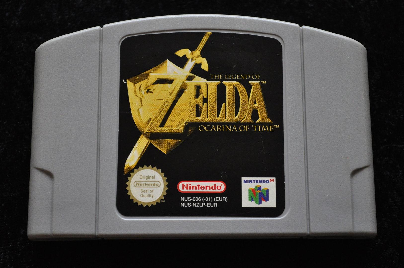 The Legend of Zelda Ocariona of Time