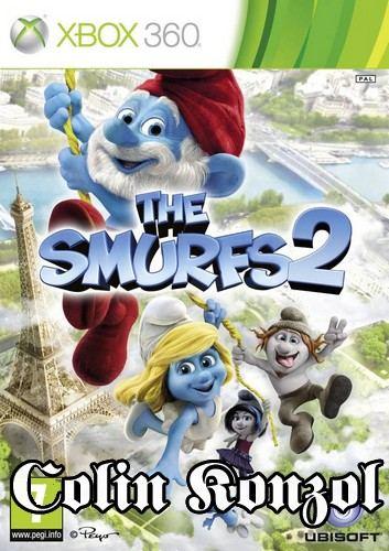 The Smurfs 2 (német boritó, angol nyelv)
