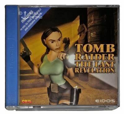 Tomb Raider: The Last Revelation SEGA Dreamcast