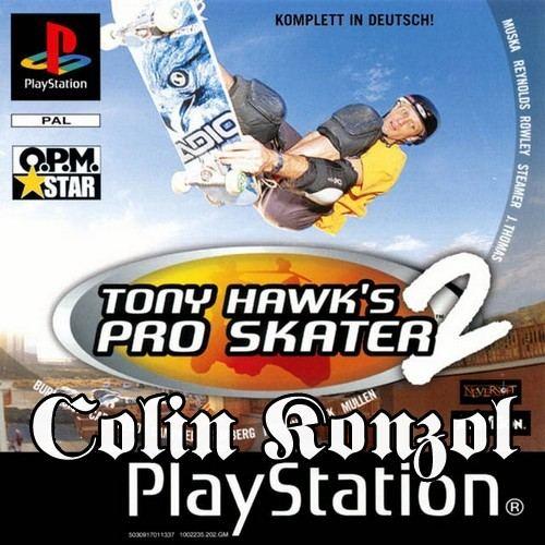 Tony Hawk's Pro Skater 2 (only disc)