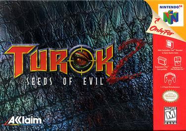 Turok 2 Seeds Of Evil (n64) dobozos (CIB sérült doboz)