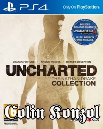 Uncharted The Nathan Drake Collection (Új)
