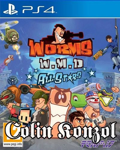 Worms WMD All Stars