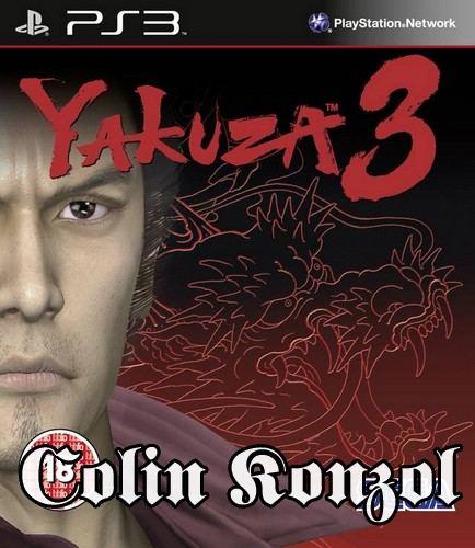 Yakuza 3+Bonus Disc (német boritó, választható angol nyelv)