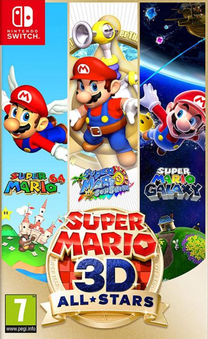 Super Mario 3D All Stars NSwitch (Új)