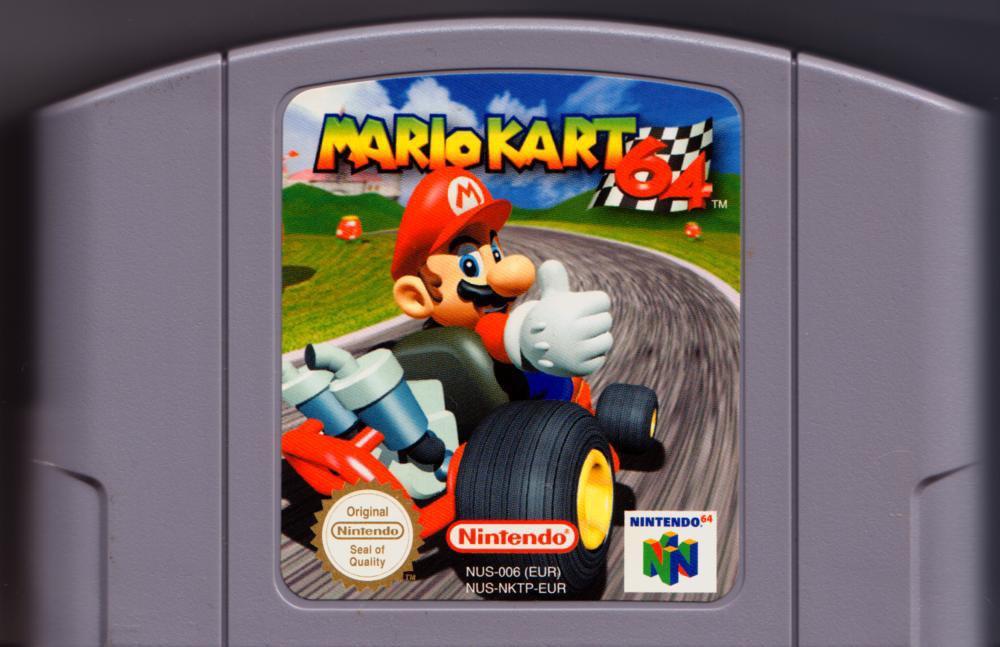 Mario Kart N64 (Cartridge)