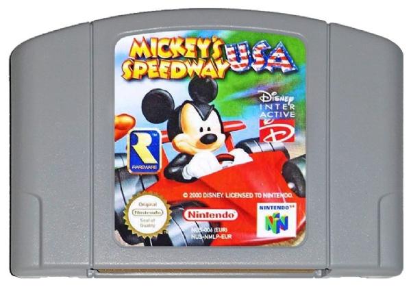 Mickey's Speedway USA (N64)(CTR)