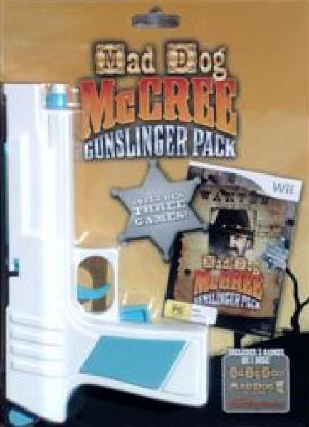 Mad Dog McCree Gunslinger Pack (Pisztollyal)