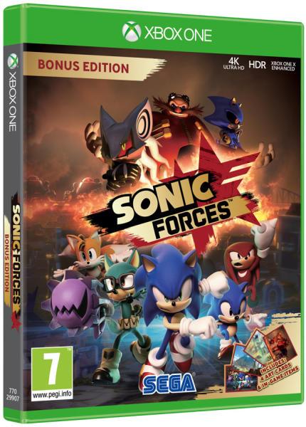 Sonic Forces Bonus Edtition (kód él)