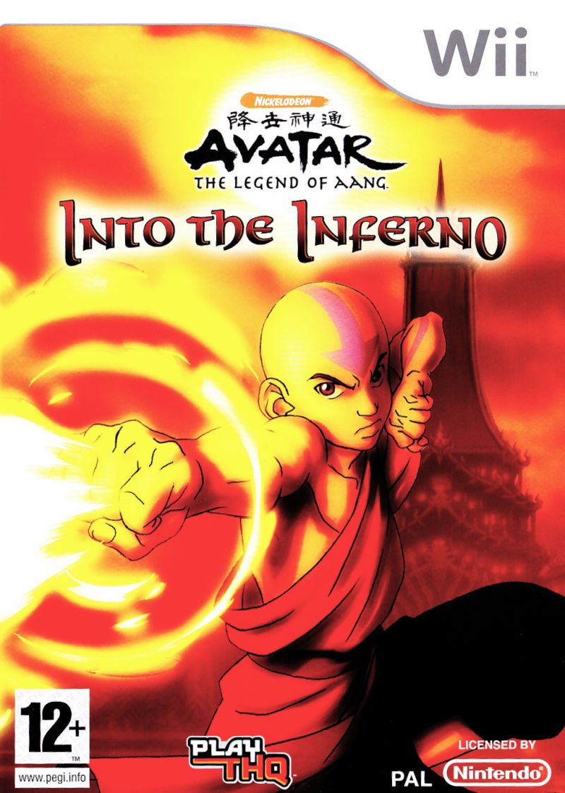 Avatar the Legend of Aang Into the Inferno Wii