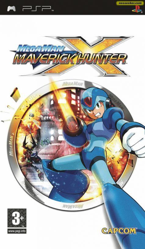 Mega Man Maverick Hunter X (Német borítós) Választható angol nyelv