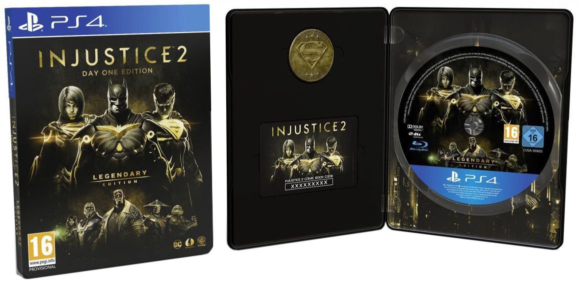 Injustice 2 Legendary Steelbook edition (ÚJ)