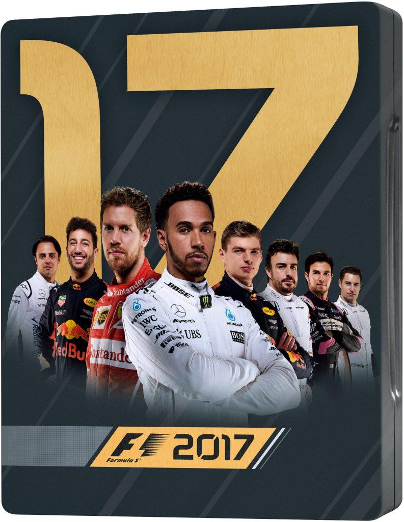 F1 2017 Steelbook Edition