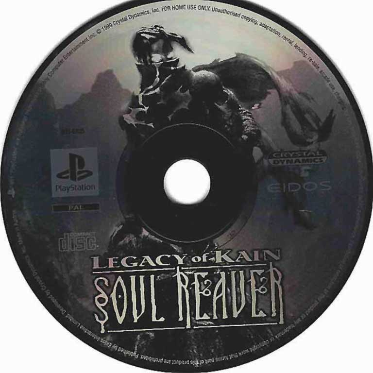 Legacy Of Kain Soul Reaver (only disc)