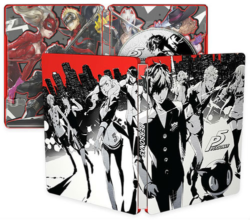 Persona 5 Steelbook Launch Edition
