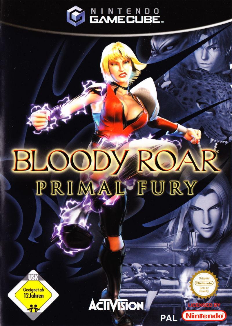 Bloody Roar Primal Fury (német borító, választható angol nyelv)