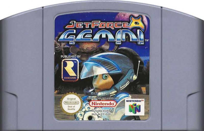 Jet Force Gemini (N64) CTR