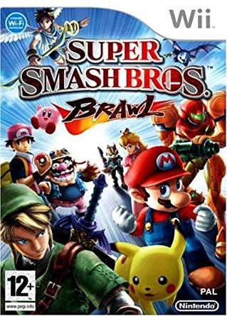 Super Smash Bros. Brawl Wii (német boritó, választható angol nyelv)