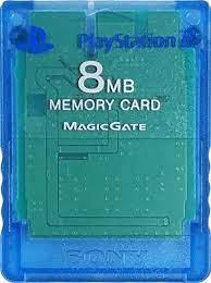 PlayStation 2 Memóriakártya (Kék)