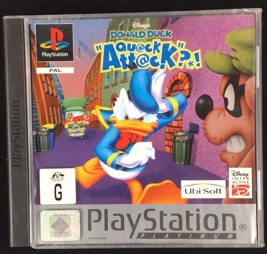 Disney  Donald Duck Quack Attack