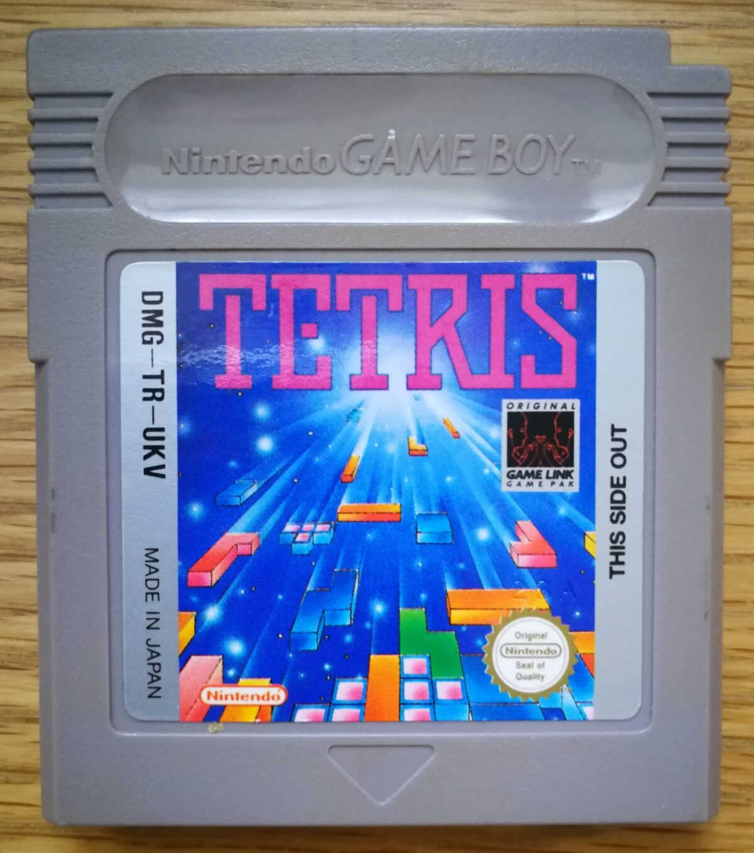 Tetris Gameboy Cartridge