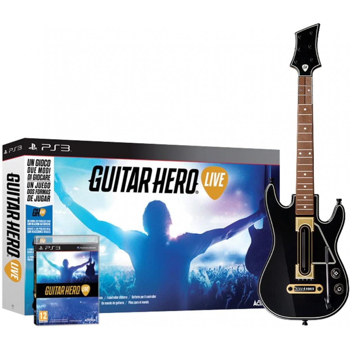 Guitar Hero Live (Gitár,Játékszoftver, eredeti dobozában)