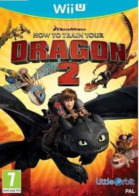 How to Train Your Dragon 2 (Wii U) Német borító, választható angol nyelv