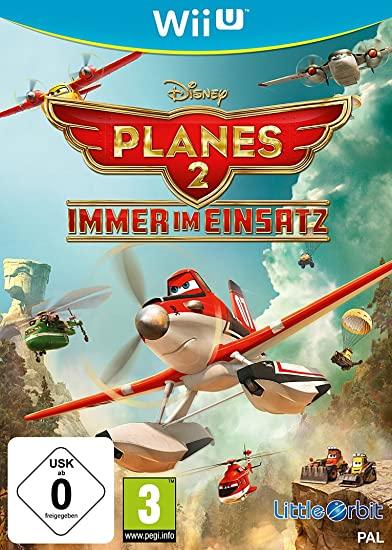 Disney Planes Fire & Rescue (Wii U) Német borító, választható angol nyelv