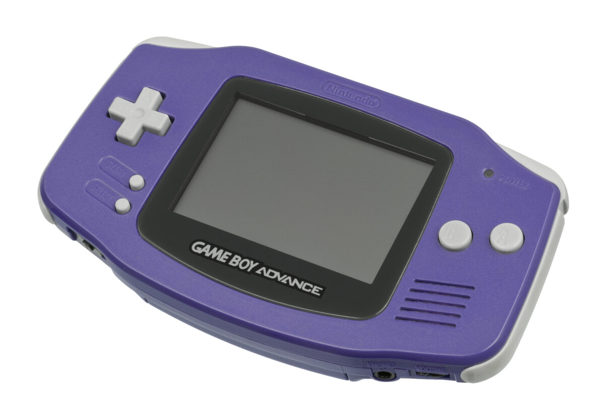 Gameboy Advance (Purple)