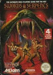 Swords and Serpents NES Pal A UKV eredeti dobozában (no manual)