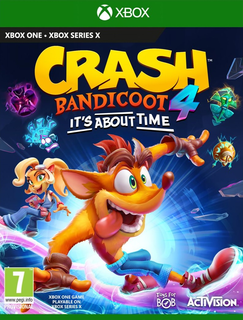 Crash Bandicoot 4 Its About Time (Új)